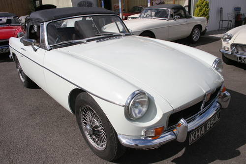 1973 MGB HERITAGE SHELL, 800 miles only SOLD (picture 1 of 6)