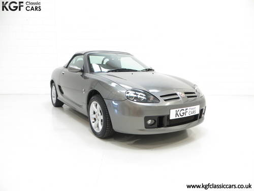 2003 A Pristine MG TF 135, Just 27,916 Miles and One Family Owner SOLD (picture 1 of 6)