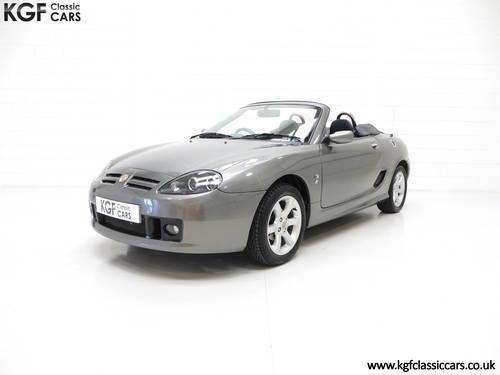 2003 A Pristine MG TF 135, Just 27,916 Miles and One Family Owner SOLD (picture 2 of 6)