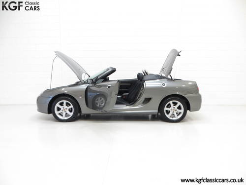 2003 A Pristine MG TF 135, Just 27,916 Miles and One Family Owner SOLD (picture 3 of 6)