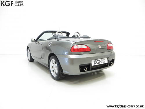 2003 A Pristine MG TF 135, Just 27,916 Miles and One Family Owner SOLD (picture 4 of 6)
