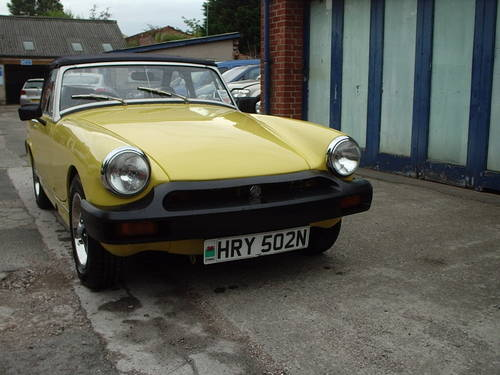 1975 MG MIDGET 1500 CONVERTIBLE SOLD | Car And Classic