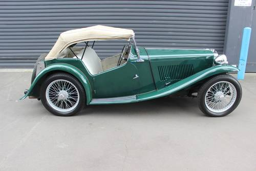 MG TA Roadster 1936 SOLD (picture 3 of 6)