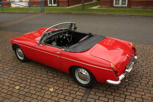 1968 Mk1 MGB Roadster - Tartan Red, Disc Wheels, Fully Restored SOLD (picture 1 of 6)