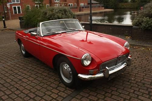 1968 Mk1 MGB Roadster - Tartan Red, Disc Wheels, Fully Restored SOLD (picture 2 of 6)