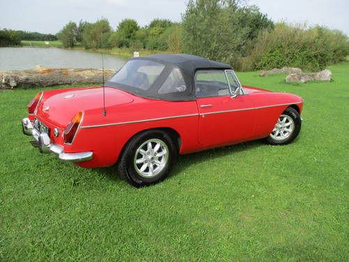 1971 MGB Roadster - Chrome Bumper - LHD - Overdrive SOLD (picture 2 of 6)