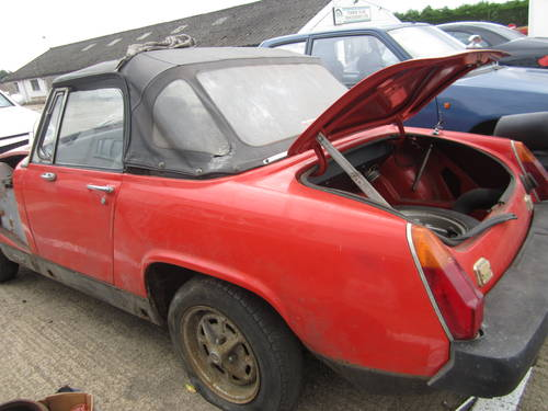 1977 Mg midget 1500 *garage find~spares or repairs* SOLD (picture 1 of 6)