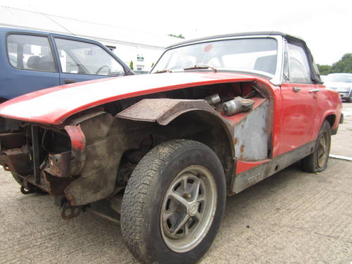 1977 Mg midget 1500 *garage find~spares or repairs* SOLD (picture 2 of 6)