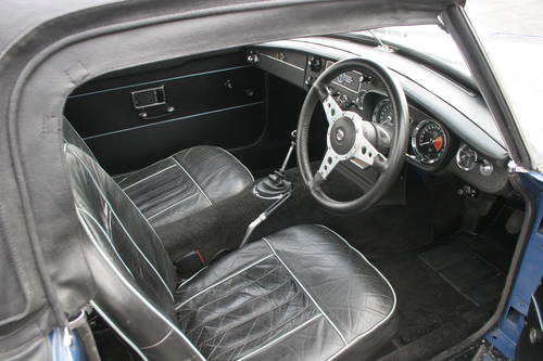 1968 MGC Roadster, UK, Car, show standard rebuild, 4 in stock. SOLD (picture 3 of 4)