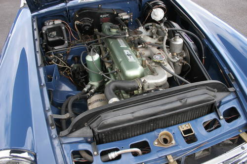 1968 MGC Roadster, UK, Car, show standard rebuild, 4 in stock. SOLD (picture 4 of 4)