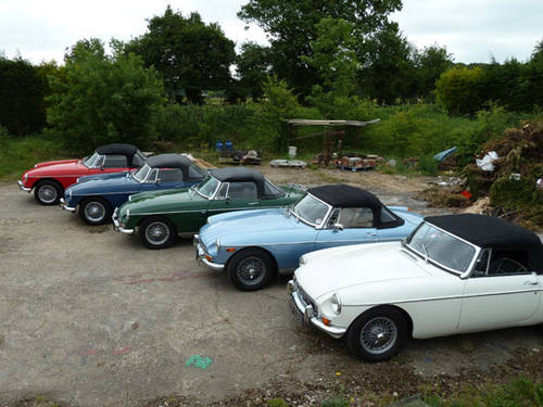 1970 MG B Roadsters delivered to your door! For Sale (picture 4 of 6)
