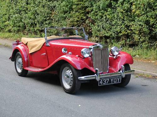 1953 MG TD - Less than 1000 miles since major restoration work SOLD (picture 1 of 6)
