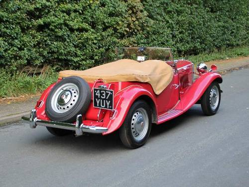 1953 MG TD - Less than 1000 miles since major restoration work SOLD (picture 2 of 6)