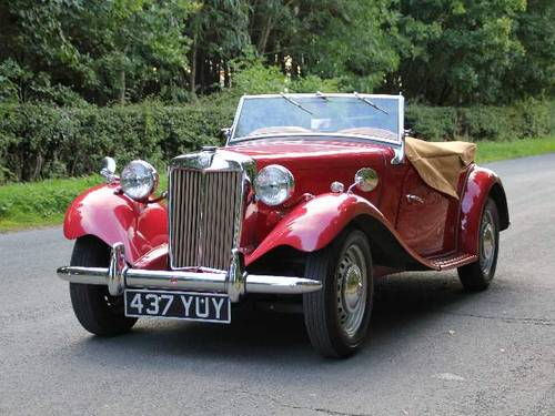 1953 MG TD - Less than 1000 miles since major restoration work SOLD (picture 3 of 6)