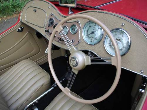 1953 MG TD - Less than 1000 miles since major restoration work SOLD (picture 4 of 6)