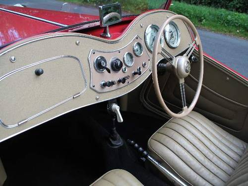 1953 MG TD - Less than 1000 miles since major restoration work SOLD (picture 5 of 6)