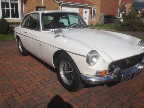 MGB GT - LHD 1970 For Sale (picture 1 of 6)