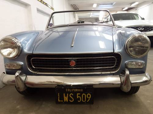 TOTALY RESTORED MG MIDGET MK1 1961 For Sale (picture 1 of 6)