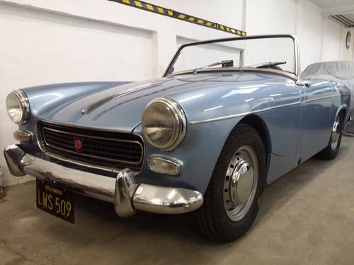 TOTALY RESTORED MG MIDGET MK1 1961 For Sale (picture 4 of 6)