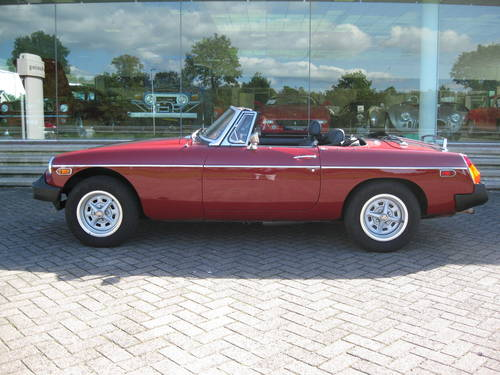 1978 MGB 1.8 Roadster € 11.900 For Sale (picture 1 of 6)