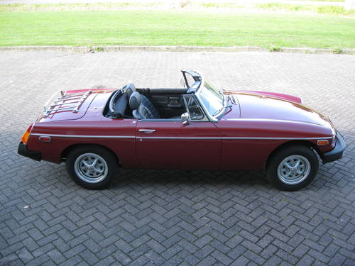 1978 MGB 1.8 Roadster € 11.900 For Sale (picture 2 of 6)