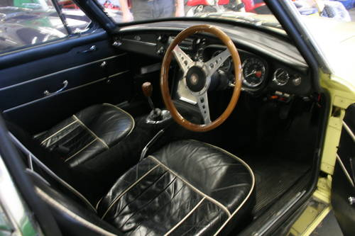 1967 MGB GT Mk1, Primrose with full sunroof SOLD (picture 3 of 5)