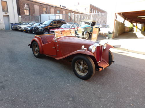 1949 MG TC Complete Car For Restoration - SOLD (picture 1 of 6)