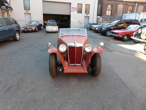 1949 MG TC Complete Car For Restoration - SOLD (picture 2 of 6)