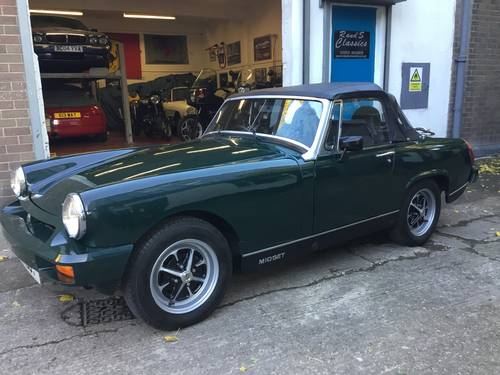 1979 Very smart MG Midget 1500 SOLD (picture 2 of 6)