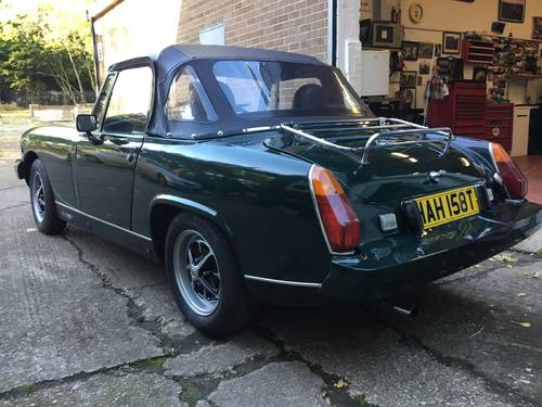 1979 Very smart MG Midget 1500 SOLD (picture 3 of 6)