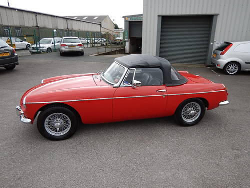 1964 MGB Roadster ~ Pull Handle Model ~  SOLD (picture 1 of 6)