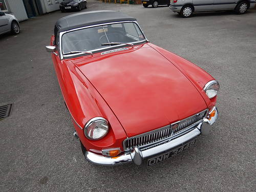 1964 MGB Roadster ~ Pull Handle Model ~  SOLD (picture 2 of 6)