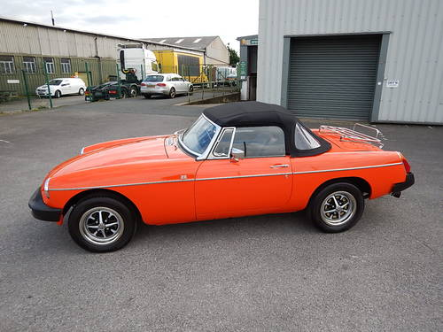 1980 MGB Roadster ~ Genuine 41749 Miles ~  SOLD (picture 1 of 6)