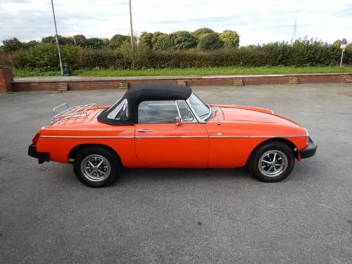 1980 MGB Roadster ~ Genuine 41749 Miles ~  SOLD (picture 3 of 6)