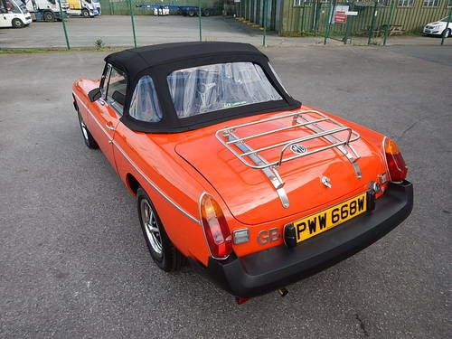 1980 MGB Roadster ~ Genuine 41749 Miles ~  SOLD (picture 4 of 6)