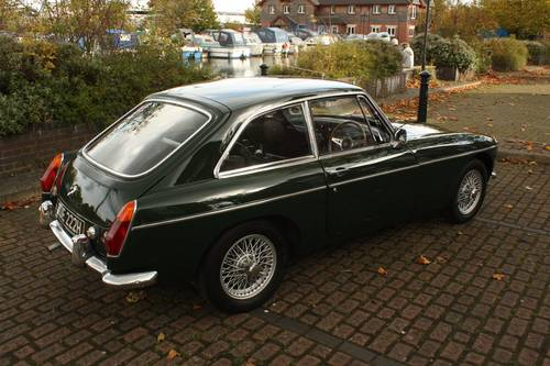 1970 MGB GT - British Racing Green, Wire Wheels SOLD (picture 2 of 6)