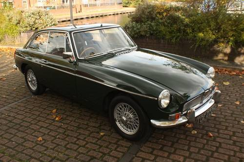 1970 MGB GT - British Racing Green, Wire Wheels SOLD (picture 3 of 6)