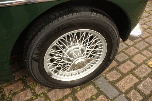 1970 MGB GT - British Racing Green, Wire Wheels SOLD (picture 6 of 6)