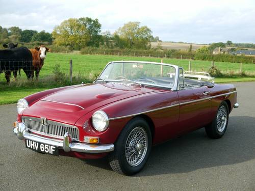 1968 MGC Roadster Manual with Overdrive SOLD (picture 1 of 6)