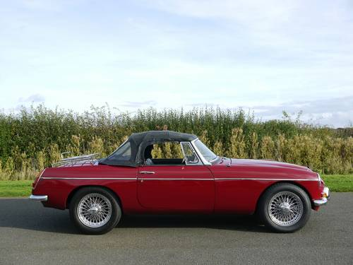 1968 MGC Roadster Manual with Overdrive SOLD (picture 4 of 6)