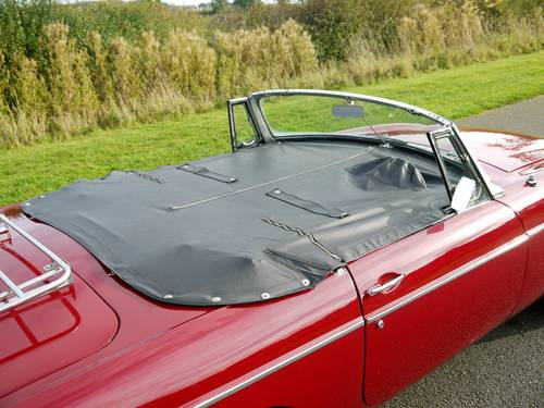 1968 MGC Roadster Manual with Overdrive SOLD (picture 6 of 6)