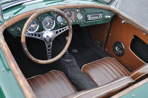 MGA RAODSTER 1958 BRG ID17021 For Sale (picture 3 of 6)
