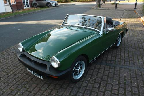 1979 MG Midget - Heritage Bodyshell Rebuild, Excellent! SOLD (picture 1 of 6)