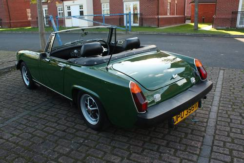 1979 MG Midget - Heritage Bodyshell Rebuild, Excellent! SOLD (picture 2 of 6)