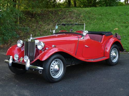 1951 MG TD Mark II For Sale (picture 1 of 6)