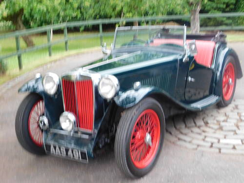 Classic MG TA for Sale For Sale (picture 6 of 6)