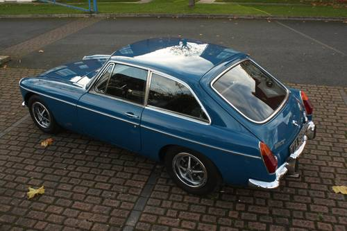 1972 MGB GT - Teal Blue, restored - drive away! SOLD (picture 2 of 6)
