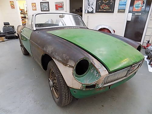 1967 MGB ROADSTER USA RESTORATION PROJECT  READ ADD FULLY SOLD | Car