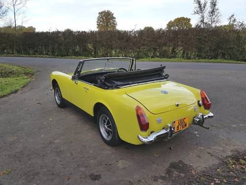 1973 MG Midget MK111 SOLD (picture 4 of 6)