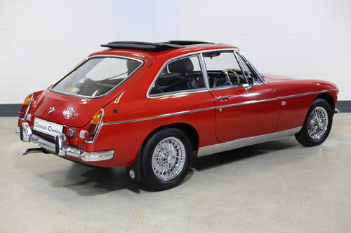 1969  MG B GT from long term ownership. SOLD (picture 1 of 6)
